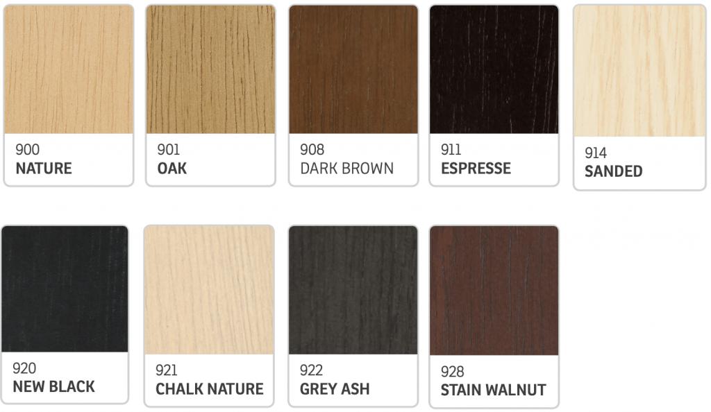 IMG Furniture Wood Colours